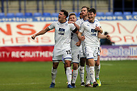 Oliver Norburn of Tranmere Rovers celebrates scoring the second goal during Tranmere Rovers vs Dagenham & Redbridge, Vanarama National League Football at Prenton Park on 11th November 2017