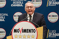 Emilio Carelli<br /> <br /> Roma 29/01/2018. Presentazione dei candidati nelle liste uninominali del Movimento 5 Stelle.<br /> Rome January 29th 2018. Presentation of the candidates for Movement 5 Stars.<br /> Foto Samantha Zucchi Insidefoto