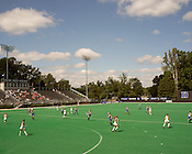 September 22, 2013. Durham, North Carolina.<br /> Duke Field Hockey, East Campus.
