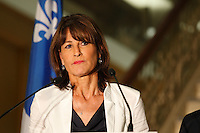 FILE PHOTO -  Quebec immigration Minister Kathleen Weil in 2015.<br /> <br /> PHOTO : Pierre Roussel - Agence Quebec Presse