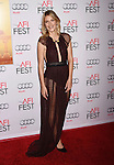 HOLLYWOOD, CA - NOVEMBER 05: Actress Melanie Laurent arrives at the AFI FEST 2015 presented by Audi Opening Night Gala Premiere of Universal Pictures' 'By The Sea' at TCL Chinese 6 Theatres on November 5, 2015 in Hollywood, California.
