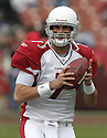 MATT LEINART, of the Arizona Cardinals during their game  against the San Francisco 49ers on December 24, 2006 in San Francisco, CA...Cardinals win 26-20....ROB HOLT/ SPORTPICS