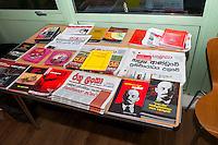 JVP (Janatha Vimukthi Peramuna) Meeting, Birmingham 28th Jan 2017, JVP Bookstand