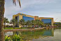 Siemens headquarters and office in the Enterprise Zone, one of the Dubai Free Zones. Dubai. United Arab Emirates.