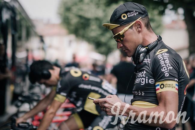 Thomas Voeckler (FRA/Direct Energie) at the start<br /> <br /> 104th Tour de France 2017<br /> Stage 13 - Saint-Girons &rsaquo; Foix (100km)