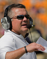 Pitt head coach Todd Graham. The Pitt Panthers beat the Maine Black Bears 35-29 at Heinz Field, Pittsburgh, PA on September 10, 2011.