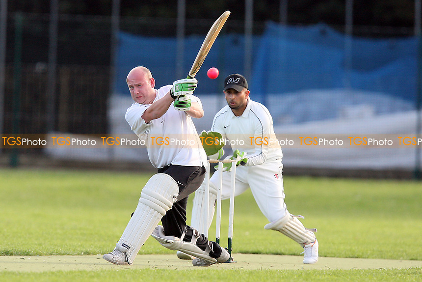 Martians CC (batting) vs Junoon CC - Victoria Park Community Cricket League - 21/06/11 - MANDATORY CREDIT: TGSPHOTO - Self billing applies where appropriate - Tel: 0845 094 6026