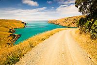 Le Bons Bay of Banks Peninsula near Christchurch - East Coast, Canterbury, New Zealand