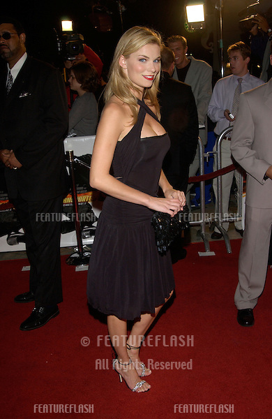 Actress NICHOLE HILTZ at the Los Angeles premiere of The Transporter..02OCT2002. © Paul Smith / Featureflash