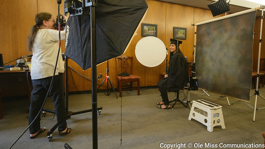 Jinal Patel poses for senior yearbook photos at the Union October 24, 2016. Photo by Marlee Crawford/Ole Miss Communications