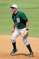 Dartmouth Big Green first baseman Dustin Selzer #31 during a game vs. the Northwestern Wildcats at Chain of Lakes Park in Winter Haven, Florida;  March 20, 2011.  Northwestern defeated Dartmouth 3-2.  Photo By Mike Janes/Four Seam Images