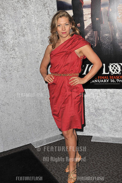 "Branka Katic at the season five premiere of ""Big Love"" at the Directors Guild Theatre, Los Angeles..January 12, 2011  Los Angeles, CA.Picture: Paul Smith / Featureflash"