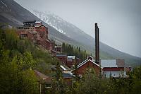 Kennecott Mine, Wrangel-St. Elias National Park, Alaska. Photo by James R. Evans