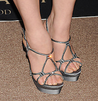 WWW.BLUESTAR-IMAGES.COM  Actress Elisabeth Rohm (shoe detail) at the BVLGARI 'Decades Of Glamour' Oscar Party Hosted By Naomi Watts at Soho House on February 25, 2014 in West Hollywood, California.<br /> Photo: BlueStar Images/OIC jbm1005  +44 (0)208 445 8588