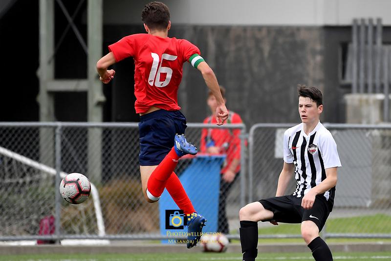 National Age Group Tournament at Petone Memorial Park, Lower Hutt, New Zealand on Friday 14 December 2018. <br /> Photo by Masanori Udagawa. <br /> www.photowellington.photoshelter.com