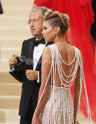 NEW YORK, NY May 01, 2017 Stella Maxwell  attend  The Metropolitan Museum of Art Costume Institute Benefit Gala for Rei Kawakubo Comme des Garcons at  Metropolitan Museum of Art  in New York May 01,  2017. Credit:RW/MediaPunch