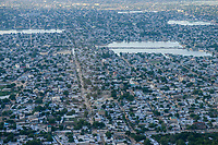 CHAD, N`Djamena , aerial view / TSCHAD, Ndjamena, Luftaufnahme