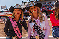 Usa, Beth Kujala is a 22-year-old, Miss Rodeo Wisconsin and Ashleigh Grant 23-year-old Warwick Rodeo Queen 2016