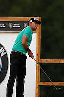 Pablo Larrazabal (ESP) on the 18th during the 1st day of the Omega European Masters, Crans-Sur-Sierre, Crans Montana, Switzerland..Picture: Golffile/Fran Caffrey..