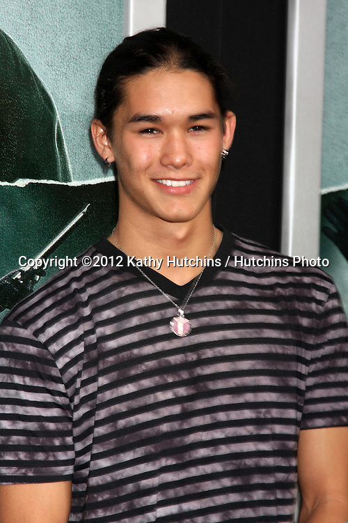 "LOS ANGELES - OCT 15:  Booboo Stewart arrives at the ""Alex Cross"" Premiere at ArcLight Cinemas Cinerama Dome on October 15, 2012 in Los Angeles, CA"
