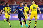Manchester United winger Antonio Valencia (c) during the International Champions Cup China 2016, match between Manchester United vs Borussia  Dortmund on 22 July 2016 held at the Shanghai Stadium in Shanghai, China. Photo by Marcio Machado / Power Sport Images