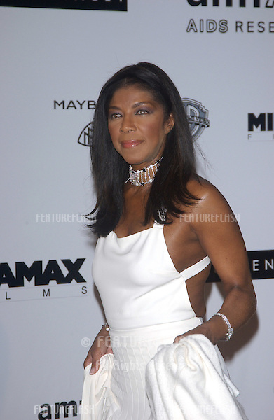 Singer NATALIE COLE at the amfAR Cinema Against AIDS Gala at Le Moulins de Mougins restaurant, Mougins, France..May 20, 2004