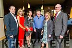 Enjoying the Crotta O'Neills GAA social in the Ballyroe Heights Hotel on Saturday night.  <br /> L-r, Kenneth and Margaret Nolan, Siobhan O'Donoghue, Cyril Nolan, Liz Guiney and Paul O'Donoghue.