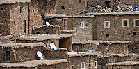 Berber Village in the High Atlas Mountains, Morocco, Northern Africa, 2013