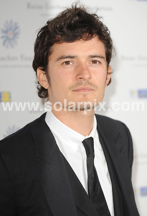 **ALL ROUND PICTURES FROM SOLARPIX.COM**.**WORLDWIDE SYNDICATION RIGHTS**.Press room arrivals at The Raisa Gorbachev Foundation, Third Annual Gala Dinner.  Held at the Stud House, Hampton Court Palace London..This pic:Orlando Bloom.JOB REF: 6585      SSD     DATE:07.06.08.**MUST CREDIT SOLARPIX.COM OR DOUBLE FEE WILL BE CHARGED* *UNDER NO CIRCUMSTANCES IS THIS IMAGE TO BE REPRODUCED FOR ANY ONLINE EDITION WITHOUT PRIOR PERMISSION*