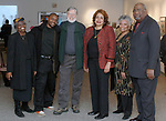 Jim Peppler, posing with the staff at the Martin Luther King Jr. Day celebration at the African-American Museum of Nassau County in Hempstead on Monday January 16, 2006. (Photo Copyright Jim Peppler 2005).