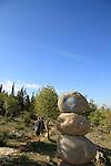 Israel, Lower Galilee, the Gospel Trail on Mount Precipice