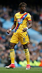 Wilfried Zaha of Crystal Palace during the English Premier League match at the Etihad Stadium, Manchester. Picture date: May 6th 2017. Pic credit should read: Simon Bellis/Sportimage