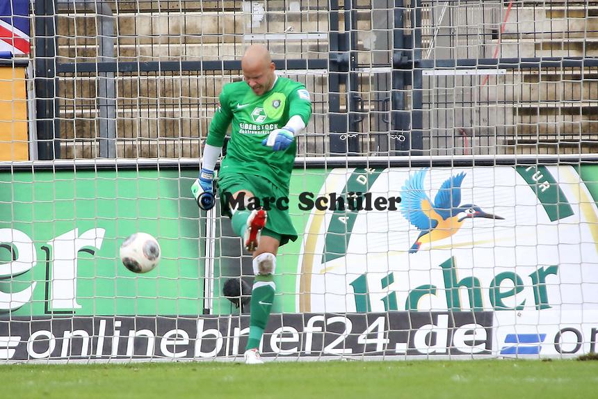 Sascha Kirschstein (Aue) frustriert nach dem 3:0 - FSV Frankfurt vs. FC Erzgebirge Aue, Frankfurter Volksbank Stadion