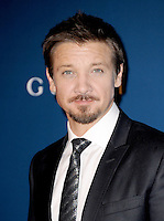 LOS ANGELES, CA - NOVEMBER 02:  Jeremy Renner at  LACMA 2013 Art + Film Gala held at LACMA  in Los Angeles, California on November 2nd, 2012 in Los Angeles, CA., USA.<br /> CAP/DVS<br /> &copy;DVS/Capital Pictures