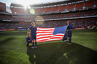 Cleveland, OH - Saturday July 15, 2017: USMNT vs Nicaragua during a 2017 Gold Cup match between the men's national teams of the United States (USA) and Nicaragua (NCA) at FirstEnergy Stadium.