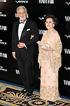 "Placido Domingo and his wife Marta Ornelas attends the photocall organized by Vanity Fair to reward Placido Domingo as ""Person of the Year 2015"" at the Ritz Hotel in Madrid, November 16, 2015.<br /> (ALTERPHOTOS/BorjaB.Hojas)"