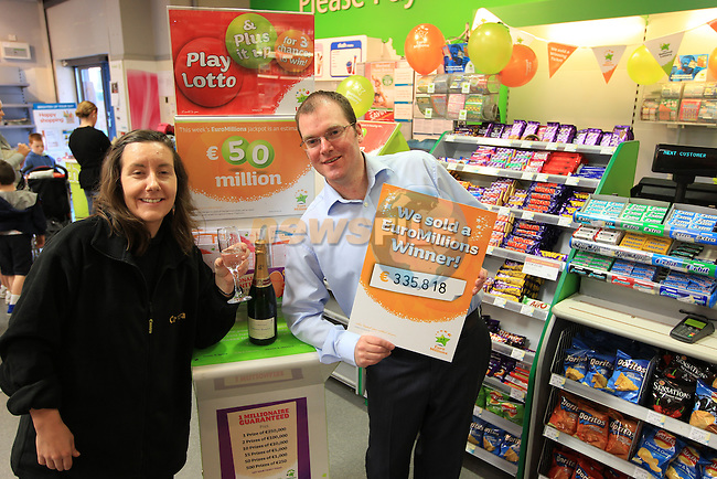 Centra Rathmullen Lotto.Picture Fran Caffrey www.newsfile.ie..