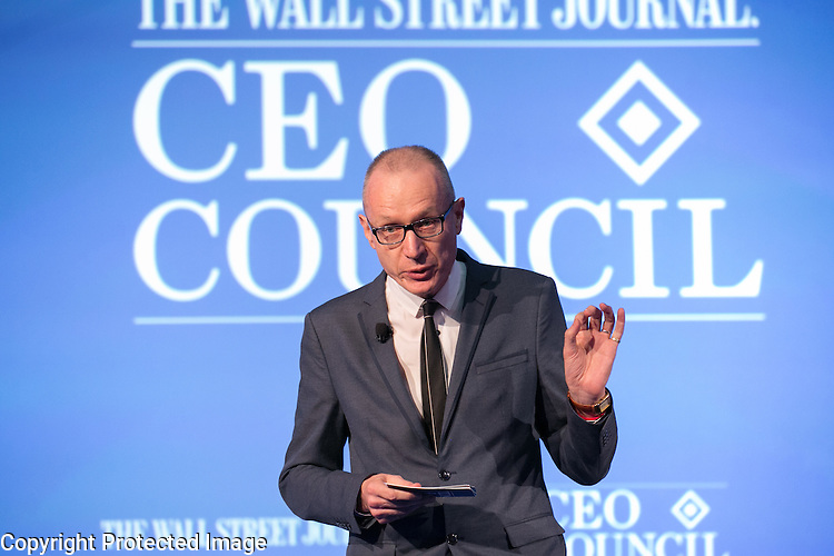 Robert Thomson speaks at the Wall Street Journal CEO Council on Monday November 16th, 2015.