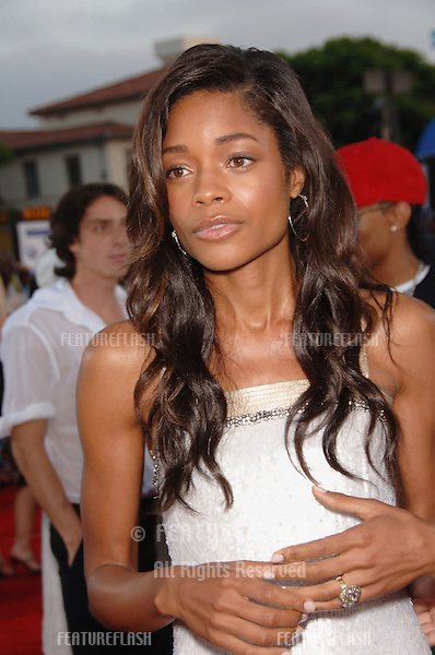 "Actress NAOMIE HARRIS at the world premiere, in Los Angeles, of her new movie ""Miami Vice."".July 20, 2006  Los Angeles, CA.© 2006 Paul Smith / Featureflash"