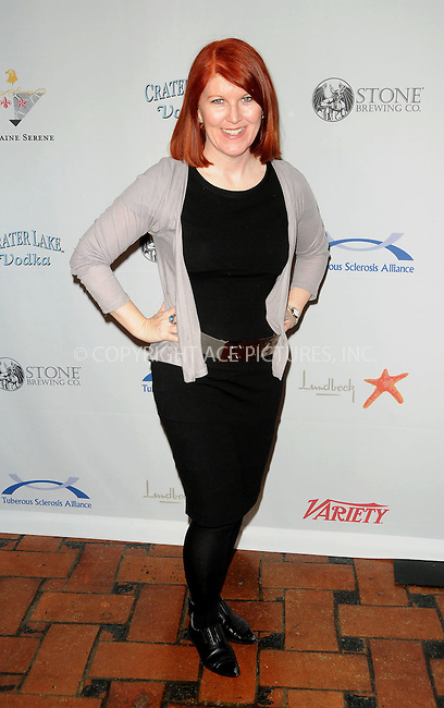 WWW.ACEPIXS.COM . . . . . ....April 3 2011, Los Angeles....Actress Kate Flannery arriving at the10th annual Comedy For A Cure at The Roosevelt Hotel on April 3, 2011 in Hollywood, CA....Please byline: PETER WEST - ACEPIXS.COM....Ace Pictures, Inc:  ..(212) 243-8787 or (646) 679 0430..e-mail: picturedesk@acepixs.com..web: http://www.acepixs.com