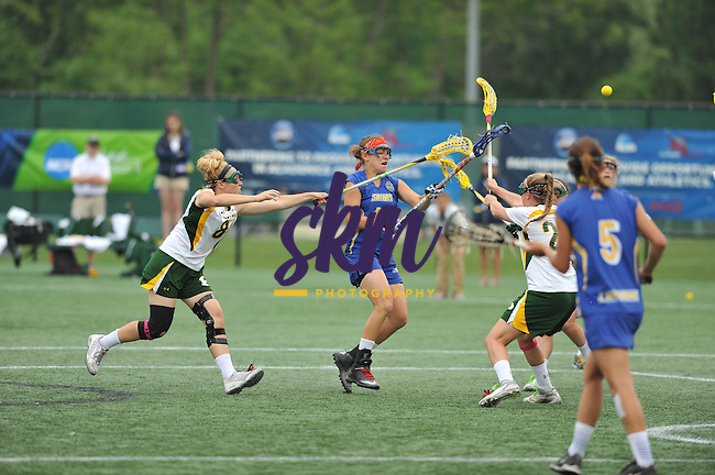 LIU Post clinched the NCAA Div II Women's Lacrosse Championship as they defeated Limestone 10-7 Sunday evening at Mustang Stadium in Owings Mills.