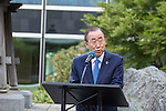 International peace day commemorations at the U.N. headquarters