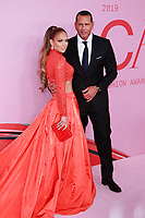NEW YORK, NY - JUNE 3: Jennifer Lopez and Alex Rodriguez at the 2019 CFDA Fashion Awards at the Brooklyn Museum of Art on June 3, 2019 in New York City.               <br /> CAP/MPI/DC<br /> ©DC/MPI/Capital Pictures
