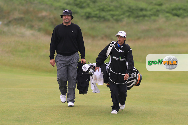 during round 1 of the Irish Open at Royal Portrush GC,Portrush,County Antrim,Ireland. 27/6/12.Picture Fran Caffrey www.newsfile.ie