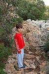 Israel, Carmel. Noam in Wadi Oren