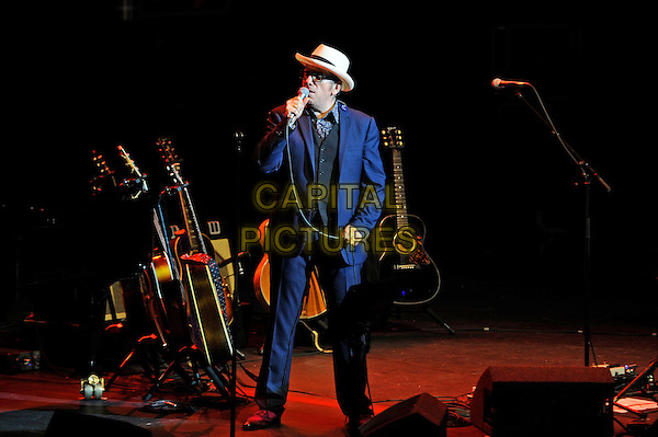 LONDON, ENGLAND - OCTOBER 28: Elvis Costello performing at Bluesfest 2014 at the Royal Albert Hall on October 28, 2014 in London, England.<br /> CAP/MAR<br /> &copy; Martin Harris/Capital Pictures