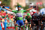Matteo Trentin (ITA) Quick-Step Floors wins Stage 13 of the 2017 La Vuelta, running 198.4km from Coin to Tomares, Seville, Spain. 1st September 2017.<br />
