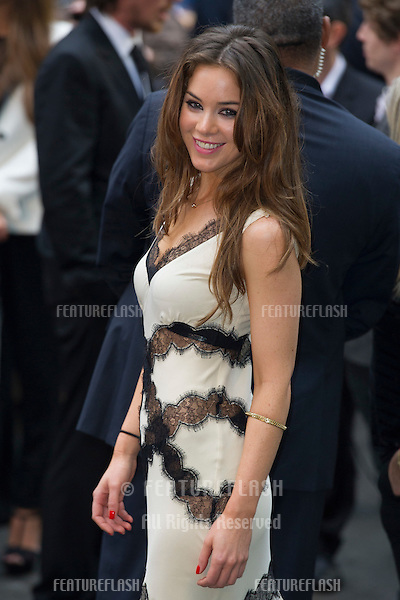"Roxanne McKee arriving for European premiere of ""The Dark Knight Rises"" at the Odeon Leicester Square, London. 18/07/2012 Picture by: Simon Burchell / Featureflash"