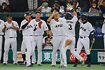 Japan team group (JPN), <br /> MARCH 14, 2017 - WBC : 2017 World Baseball Classic Second Round Pool E Game between Japan 8-5 Cuba at Tokyo Dome in Tokyo, Japan. <br /> (Photo by Sho Tamura/AFLO SPORT)