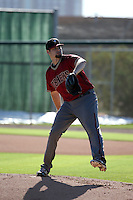 Cody Hall - Arizona Diamondbacks 2016 spring training (Bill Mitchell)